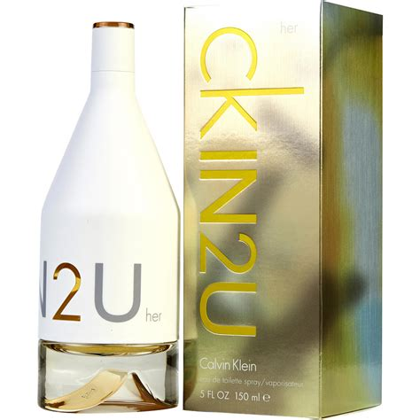 Launch Of Calvin Kleins New Fragrance In2u ck in2u eau de toilette fragrancenet 174