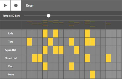 pattern generator music learn music making online with interactive instruments