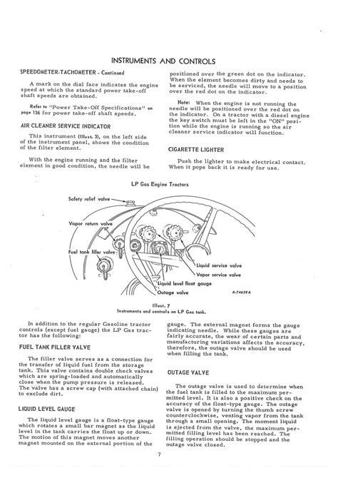 International Harvester Farmall 806 Tractor Operators Manual