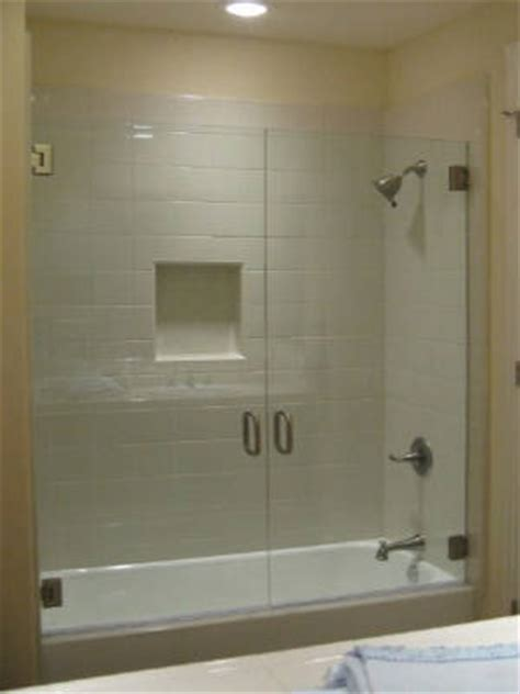 Basco custom shower enclosure sliding shower doors tub shower