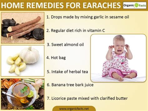 home remedies for earache organic facts