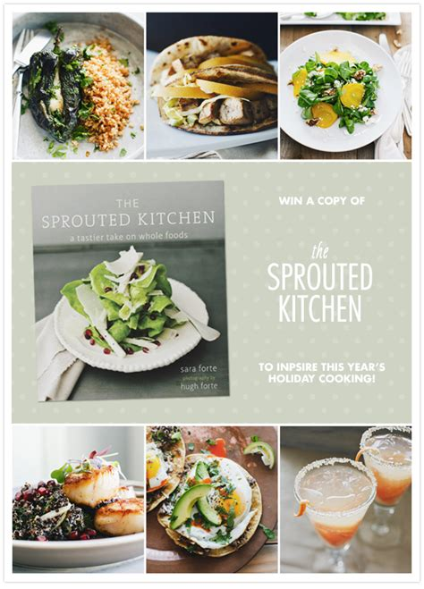 the sprouted kitchen cookbook giveaway giveaway