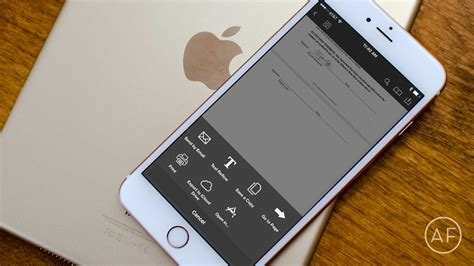 on iphone how to sign scan and send pdfs on iphone or