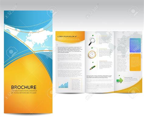 brochure templates microsoft resume template brochure templates free for