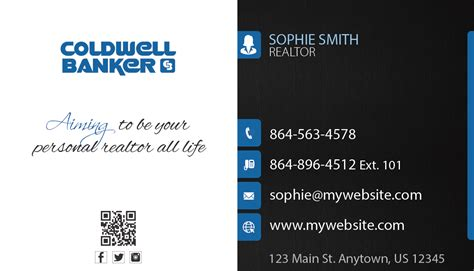 Business Cards Coldwell Banker Templates by Coldwell Banker Business Cards 23 Coldwell Banker