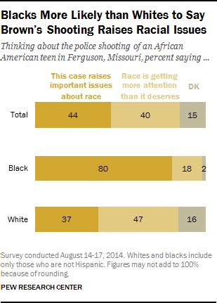 ferguson shooting, riots and race: whites, blacks react