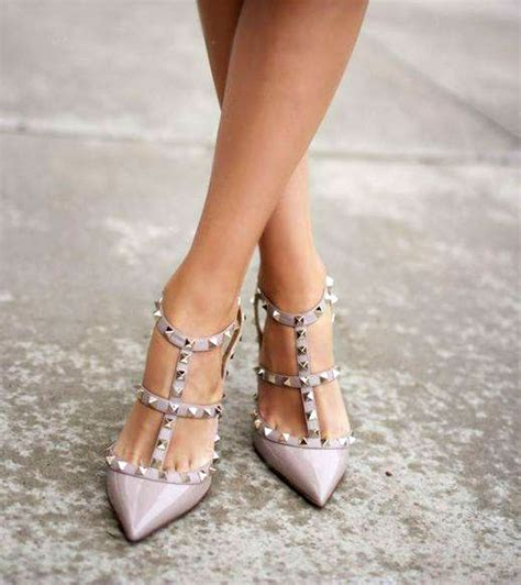 Heels Krem 1 87 best valentino rockstud images on my style valentino shoes and fashion