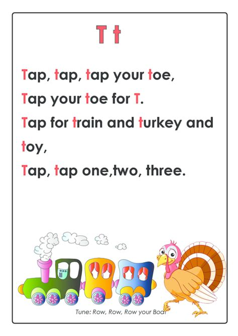 Letter Song Abc Songs Letter T Abc Songs Early Learning And Letters