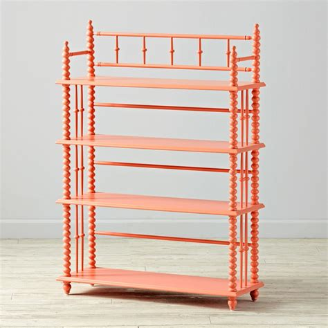 coral lind bookcase the land of nod