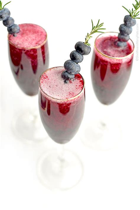 martini blueberry blueberry bellini recipe she wears many hats