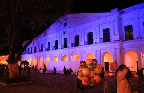 zocalo night the coloured streets of san cristobal de las casas you