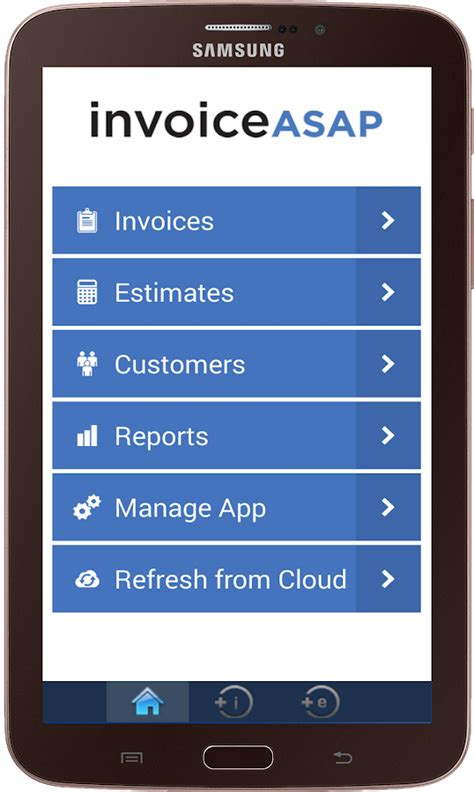 quickbooks for android invoice asap for quickbooks android apps on play
