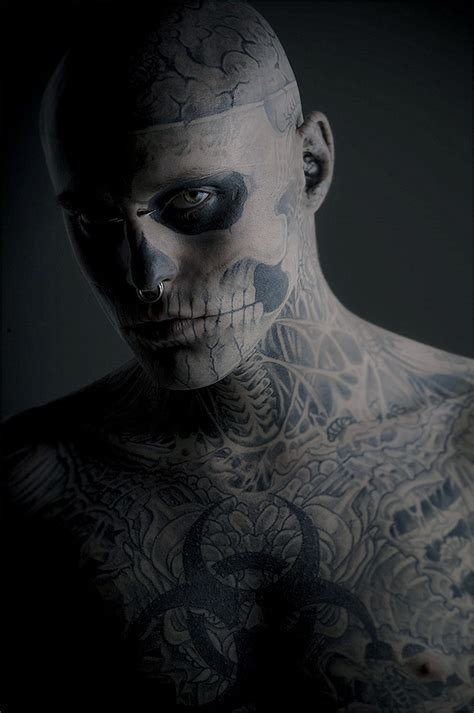 zombie boy tattoo i like freak shows meaning and different