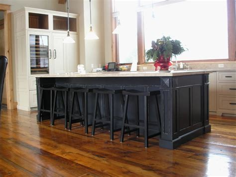 custom kitchen islands that look like furniture awesome 8 foot kitchen island gl kitchen design