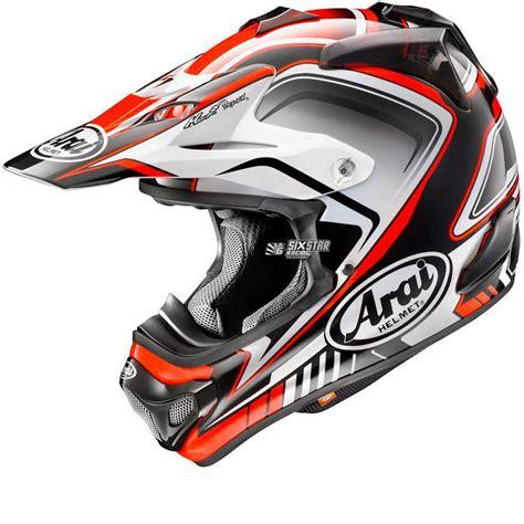 Helm Arai Supermoto arai mx v speedy rot honda motocross helm helmet enduro supermoto crosshelm