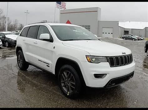 2016 jeep grand cherokee white 2016 jeep grand cherokee limited 75th anniversary edition