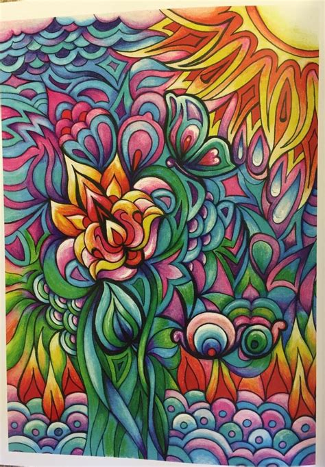 creative haven floral frenzy coloring book creative haven
