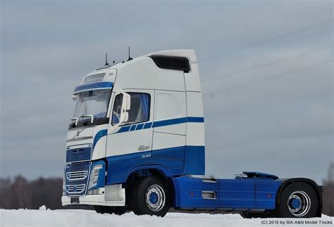 volvo model trucks volvo fh4 a n model trucks 1 24 andrey myakotkin a n
