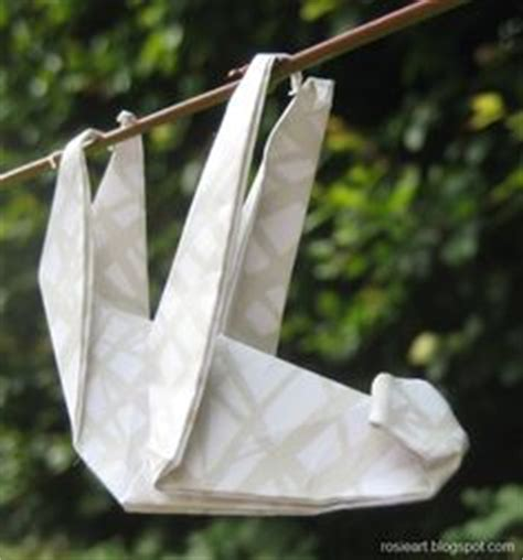 Origami Sloth - adorable sloth activities
