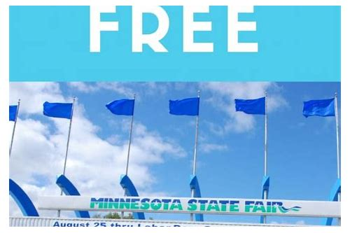 coupon book for mn state fair