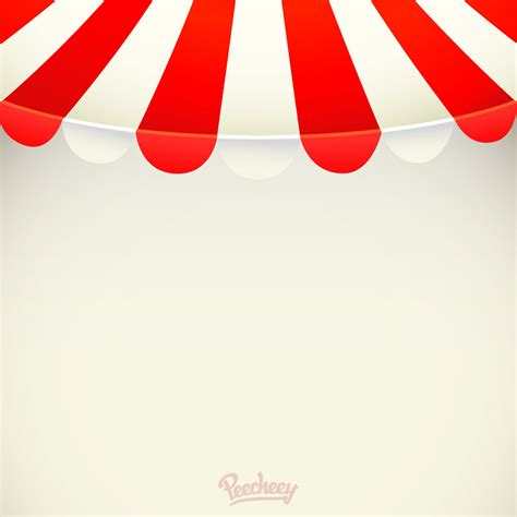 awning red red white stripy awning background vector download