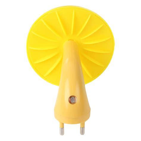 lu tidur sensor cahaya model jamur yellow