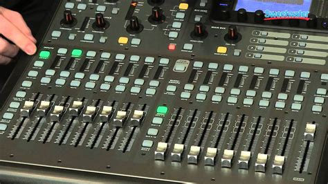 Mixer Digital Behringer X32 Compact behringer x32 producer digital mixing console overview