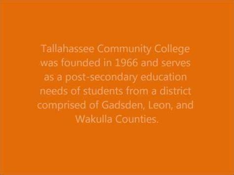 tallahassee community college profile tallahassee
