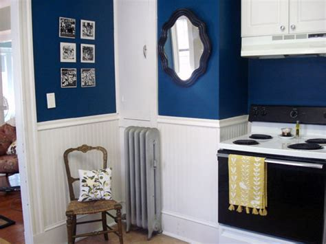 blue kitchen paint color ideas classically modern nest if the outside isn t navy