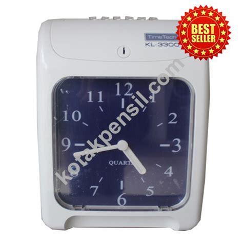 Mesin Absensi Check Clock harga promo mesin absensi kartu time tech kl 3300