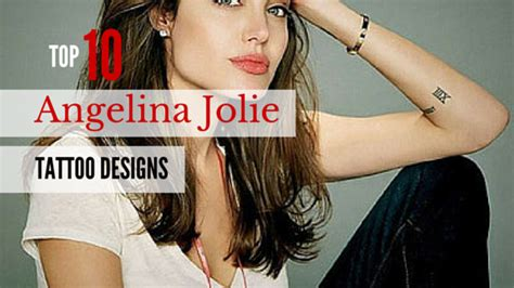 Get Angelinas Ink by Top 10 Designs Amazing Ideas