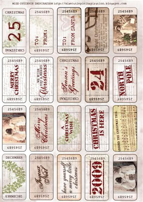 printable gift tickets 30 free christmas printables design dazzle