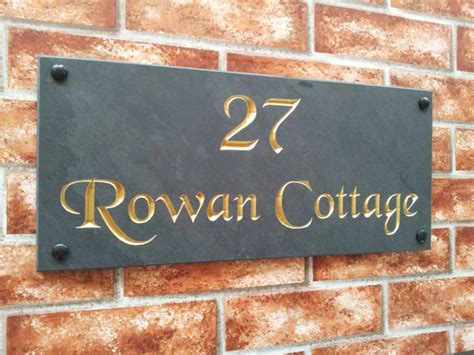 name plaques for house house name sign address plaque 450mm x 200mm
