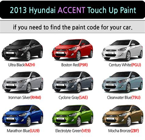 hyundai touch up paint color code and directions for auto design tech