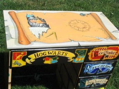 hogwarts desk harry obsession
