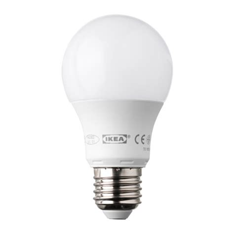 Led Light Bulbs E27 Ledare Led Bulb E27 400 Lumen Ikea