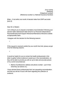 Reconsideration Letter Template by Template Mandatory Reconsideration Letter In Word And Pdf