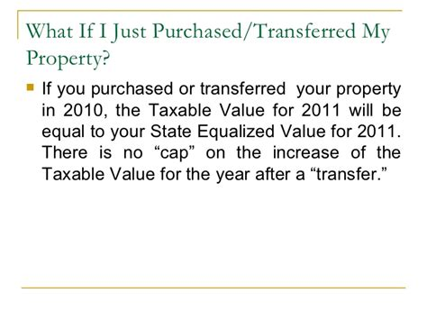 2011 property tax information