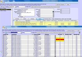 Sales Access Database Template by Microsoft Access Simple Sales Inventory Database Template