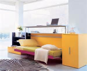 Folding Desk Bed Cabrio In Folding Bed Desk For Small Space Living