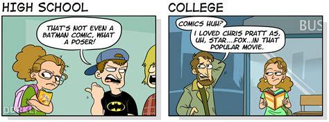 vs vs dork vs dweeb humor humor high school vs college when you re a dorkly post