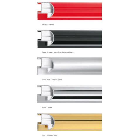 cornici alluminio su misura nielsen cornice in alluminio su misura profilo 75