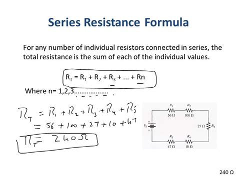 resistors in series sum previous lecture energy and power power in an electric circuit ppt