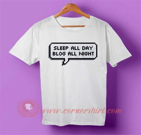 T Shirt All Day All sleep all day all t shirt cornershirt