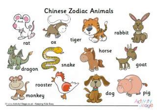 new year animals uk new year vocabulary