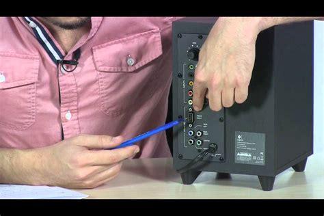 tigerdirect tv logitech  surround sound speakers
