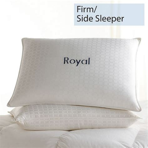 Pillow Firmness For Side Sleepers by Special Legends 174 Royal Pillow Firm Side Sleeper The Company Store