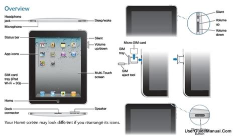 ipad layout design guidelines ipad user manual for ios4 ios 4 2 software wifi 3g