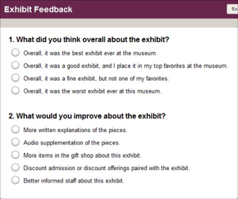 creating a practical survey: the effect of survey design