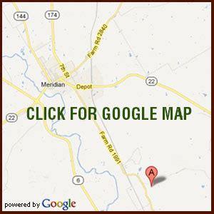 meridian texas map contact the radde tannenbaum farm cut your own trees at our live tree farm
